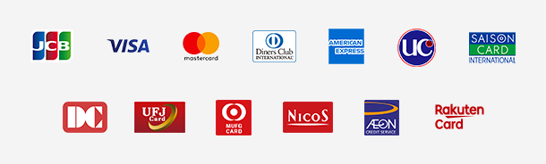 注文時カード決済 利用可能ブランド