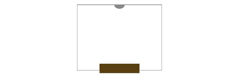 ウォールナットクレア 形状